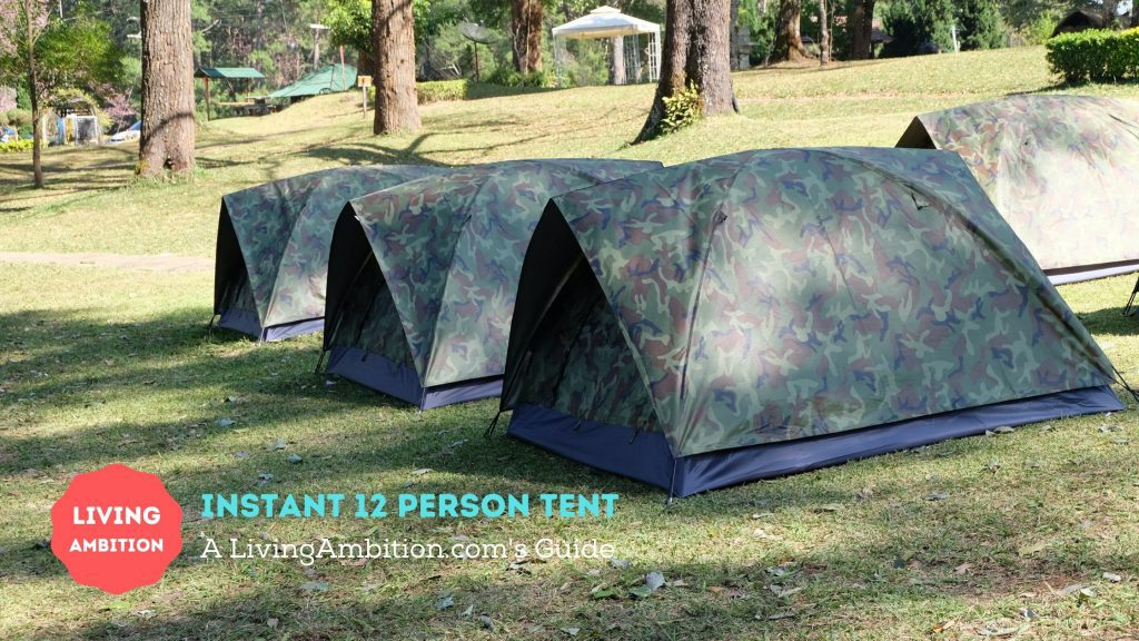 best instant 12 person tent