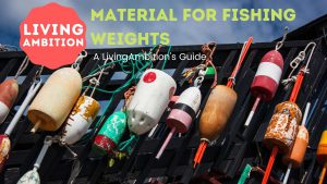 What are fishing weights made of