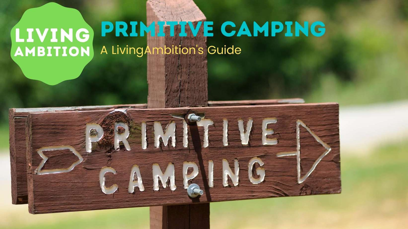 what does primitive camping mean