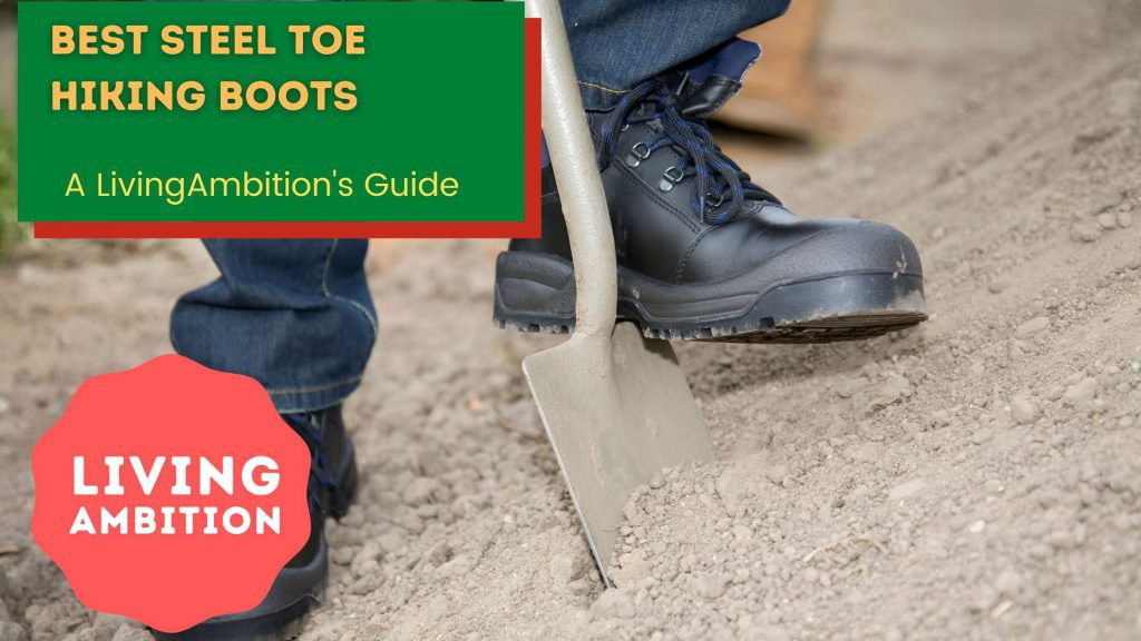 steel toe for hiking boot