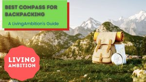 Compass for hiking