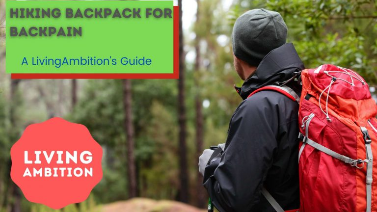 backpack for back pain