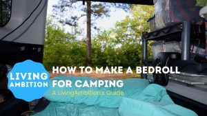 How to Make a Bedroll for Camping