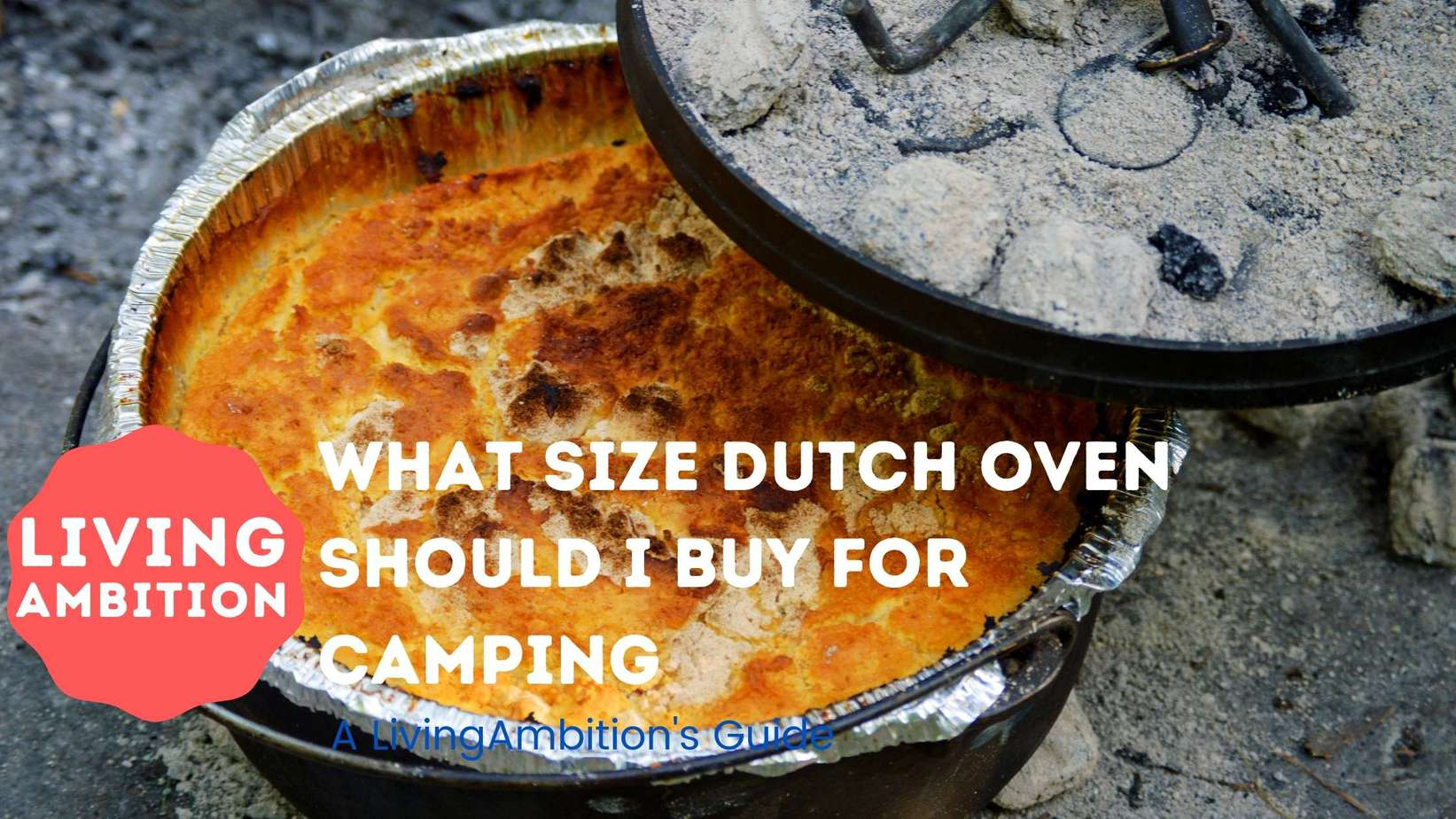 what size dutch oven should i buy for camping