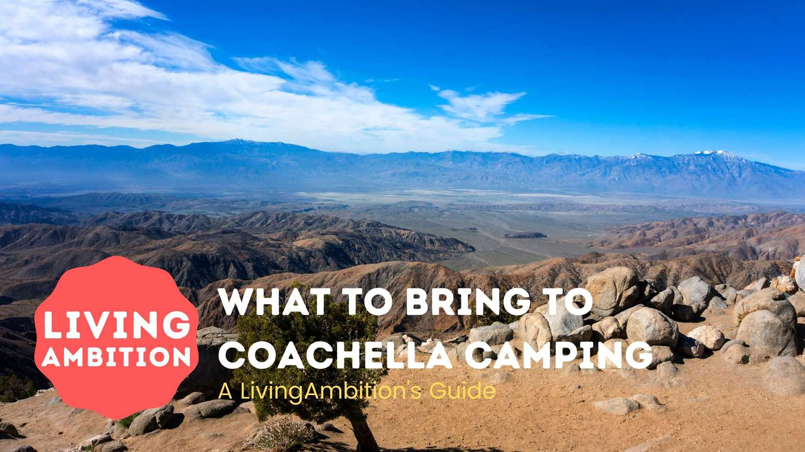 what to bring to coachella camping